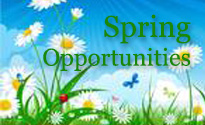 Spring Opportunities
