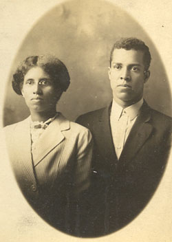 Rev. John M. Clark and his wife, Stella